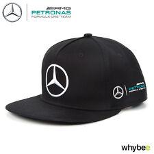2017 Lewis Hamilton flatbrim cap nero MONSTER Mercedes-AMG F1 TEAM DI FORMULA 1