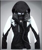 Women's Outdoor Waterproof Windproof Winter Warm Ski Coat zip Jacket 6 Colors
