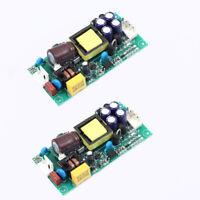 2pcs AC 85V-265V to DC +/-15V Dual Output AC-DC Step Down Power Supply Module
