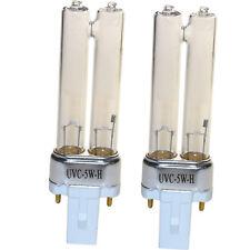 2x Hqrp Uv-C Bulbs for GermGuardian Ac4900 Ac5300B Ac5350B Ac5350W Air Purifiers