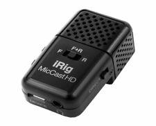 IK Multimedia iRig Mic Cast HD podcasting mic for iPhone/iPad and Mac/PC