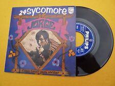 """Jorge – 24 Sycomore / Como Hacer Para Olvidar (EX+/EX) Spain 1967 single 7"""" ç"""
