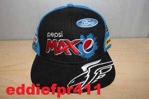 2013 FPR MARK WINTERBOTTOM / WILL DAVISON PEPSI MAX CREW FORD RACING FLAT CAP