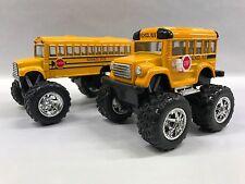 School Bus Big Wheel 4 & 5 inch KT-4004.DB KT-5108 Set of 2