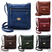 Women Lady Shoulder Bag Tote Satchel Cross Body Leather Handbag Messenger Purse