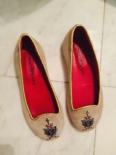 Cesare Paciotti Kids Girls Louboutin Red Sole Beige Suede Shoes Sz 29 $329