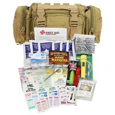 Outdoor Camping Hiking Prepper Survival Molle Backpack Disaster Kit First Aid