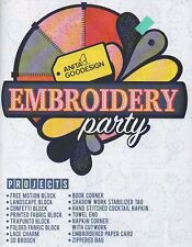 Anita Goodesign-EMBROIDERY PARTY CD & BOOK 15 PROJECTS Cd and BOOK 004