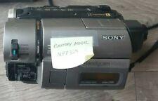 Sony Handycam Ccd-trv46 Hi8 8mm tape turns on Read Description As-is