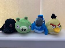 Angry Birds Pig, Darth Vader, Rio Blue Plush Toy Lot of 14