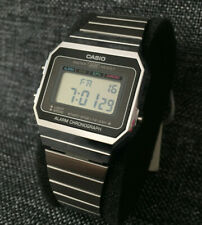 CASIO VINTAGE COLLECTION A700WE-1AEF SILVER DIGITAL STOPWATCH BRAND NEW
