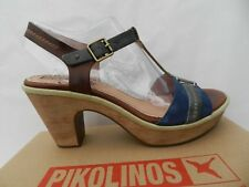 Pikolinos Trinidad 883 Chaussures Femme 41 Sandales T Strap 9614 Salome UK8 Neuf