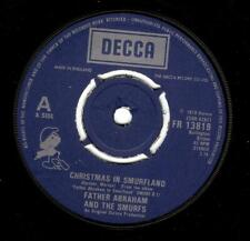 FATHER ABRAHAM Christmas In Smurfland Vinyl Record 7 Inch Decca FR 13819 1978