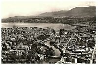 Lake Geneva & City View Geneva Switzerland Postcard