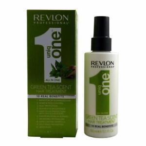Revlon Uniq One Green Tea Hair Treatment with 10 Real Benefits 5.1 oz