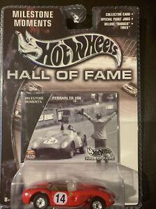 Hot Wheels Milestone Moments Hall Of Fame Ferrari TR 250