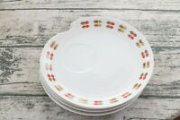 Bali 550 Set of 4 MCM Mid Century Modern Style Snack Dinner Plates Dishes