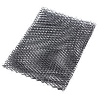 "100 x 33cm/40x13"" Aluminium Racing Grille Mesh Vent Car Tuning Grill Net Black"