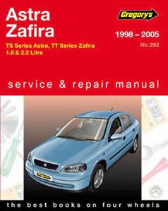 Holden Zafira TT from 2001-2005 Workshop Repair Manual with MPN GAP04293