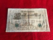 Billet de 1000 Reichsbantnote Berlin (1910)