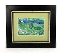 Rare Vintage Mid Century Marc Chagall Lithograph A Royal Palace Framed