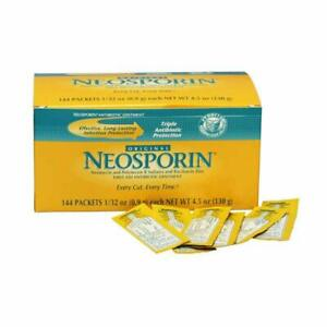 Neosporin First Aid Antibiotic,  Ointment 2x Individual Packet 0.9g 1/32 oz