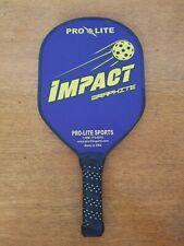 Pro-Lite Impact Graphite Pickle ball Paddle Royal Blue & Yellow