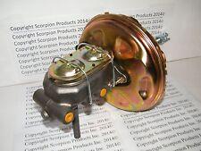 """GM 11"""" Power Brake Booster Master Cylinder Disc/Drum Chevelle Camaro Nova"""