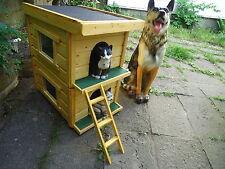 Katzenhütte, Katzenklappe, Katzenhaus, Haustierbedarf,Katzen ,Betten Wetterfest