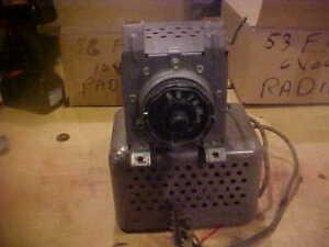 1953 to 1955 Ford Truck Radio  6 Volt F100 F250