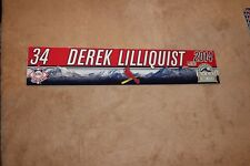 St. Louis Cardinals GAME USED (Derek Lilliquist)   Locker Name Plates Rare!!