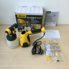 Wagner W 100 Electric Paint Sprayer for Wood Metal paint - interior - exteri **