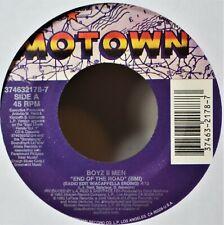 "Boyz II Men End of the Road 45 7"" Vinyl & Jukebox Strip  -Extra 45's Ship Free"