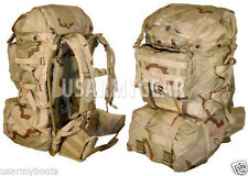 US Army Military Molle Desert Ruck Sack  Rifleman Set Assault Hydratio Back Pack