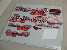 1987 DECALS STICKERS TRX70 TRX 70 FOURTRAX 4 WHEELER