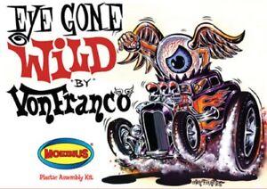 Moebius Von Franco Eye Gone Wild Model Kit MINT/SEALED 181RE28