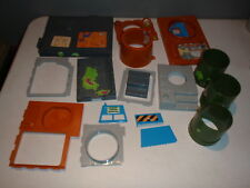 Vintage Teenage Mutant Ninja Turtle Sewer Lair Playset Parts Lot