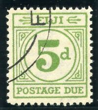 Used Postage Due Fijian Stamps (Pre-1967)
