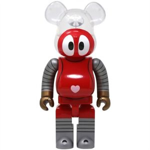 ROBOCON 400% Bearbrick Be@rbrick Medicom Toy Rare Limited Robot Red Heart