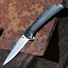Couteau Kershaw Al Mar AM-3 A/O Lame Acier 8Cr13MoV Manche G-10/Acier KS2335