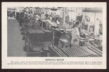 Postcard DALLAS TX  Mitchell Co WWII Army/Navy Munitions Factory #6 view 1940's