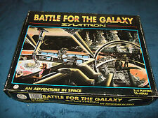 BATTLE FOR THE GALAXY--ZYLATTRON FAMILY BOARD GAME BY GAMES PEOPLE PLAY 1986