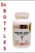 3 botellas Immuno-Asistente, suplemento alimenticio, hongos/setas medicinales