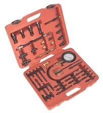 Sealey Gasolina Y Diesel Master compresión Tester Kit de herramientas con 600psi Calibre
