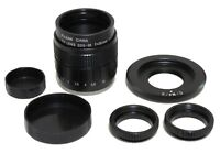 Fujian-35mm f/1.7 CCTV Cine Lens + C-M4/3 Black Magic C Mount to BMPCC MFT Micro
