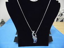 """""""NEW"""" BEAUTIFUL TIBETAN SILVER GIRAFFE ON A LOVELY 20 INCH SILVER-PLATED CHAIN"""