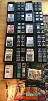 Atari 400 800 XE >70 Cartridges >60 Manuals 11 Cases Lot SELLING MY COLLECTION