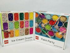 Lego 1000 pc  Ice Cream Puzzle Dream + Paint Party Puzzle Set (FREE SHIPPING)