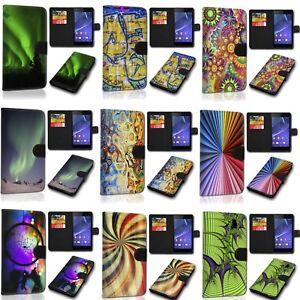Design Handy Tasche Book Hülle Cover Case Schutz SVH-Art für Samsung Galaxy A51