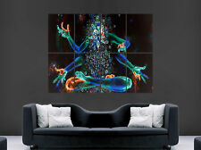 Cartel de la Religión Arte Abstracto Trippy Abstracto Pared Gigante Colores impresión de imágenes